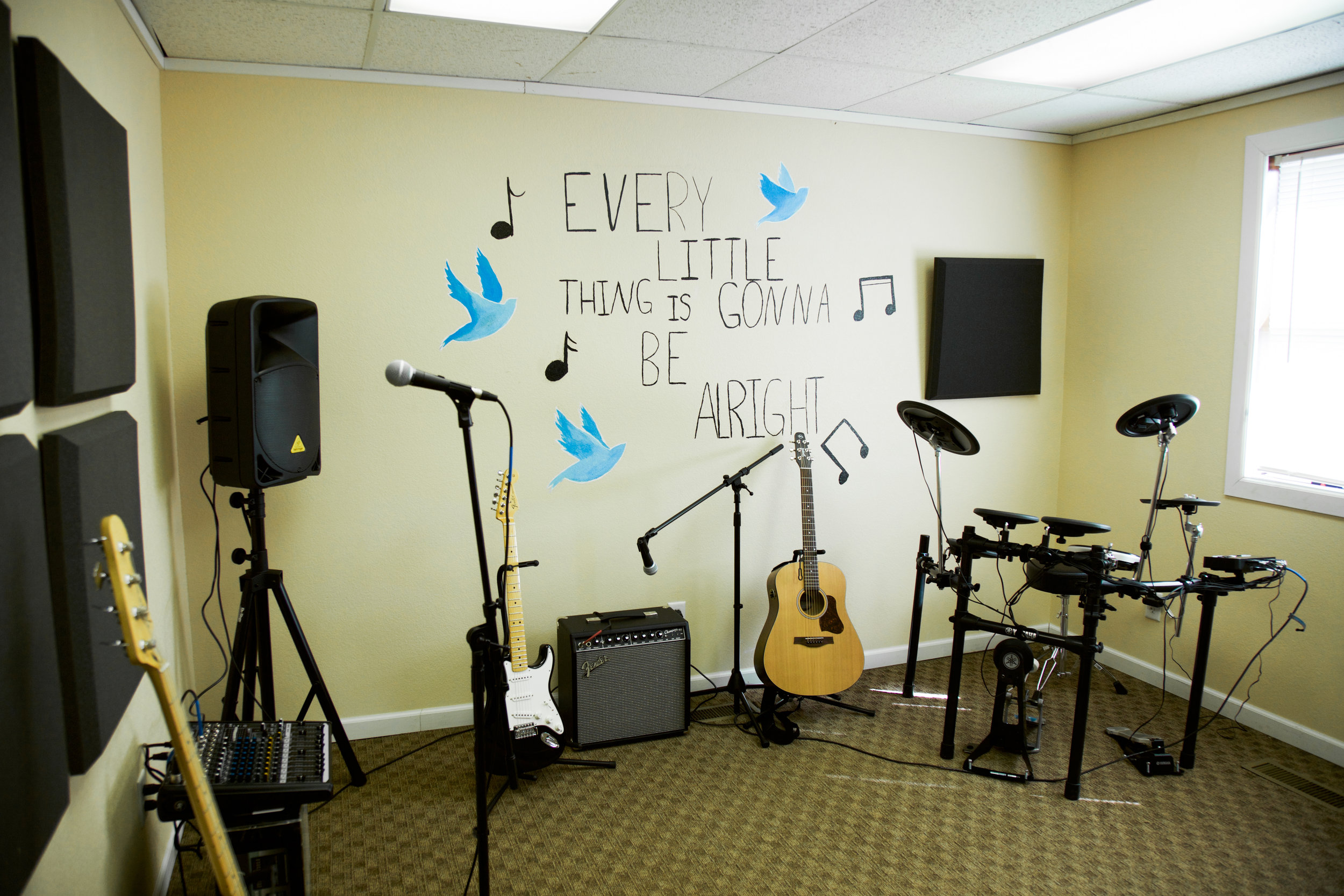 Troy music room slide show